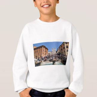 Piazza di Spagna, Rome, Italy Sweatshirt