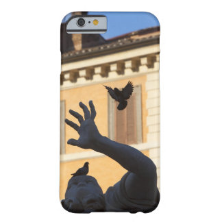 Piazza Navona Bernini fountain statue, pigeon in Barely There iPhone 6 Case