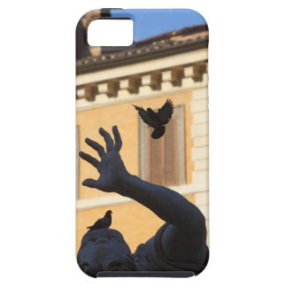 Piazza Navona Bernini fountain statue, pigeon in iPhone 5 Covers