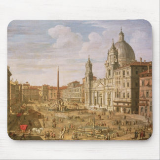 Piazza Navona, Rome, looking South towards Palazzo Mouse Mat