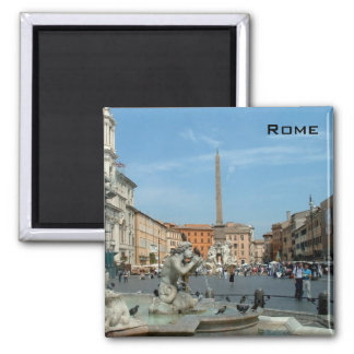 Piazza Navona - Rome Square Magnet