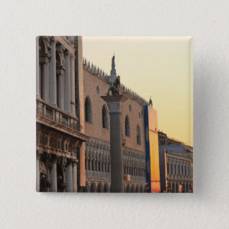 Piazza San Marco (St. Mark's Square, Venice 15 Cm Square Badge