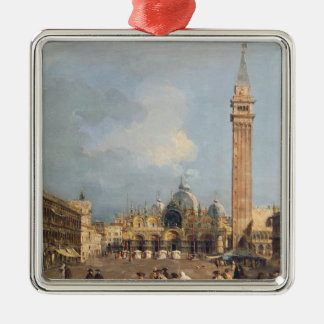 Piazza San Marco, Venice, c.1760 Christmas Ornament