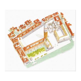 Piazza San Marco. Venice Italy Canvas Print