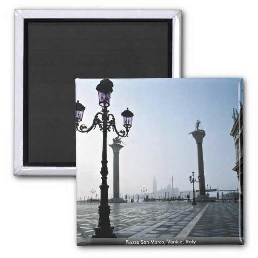 Piazza San Marco, Venice, Italy Magnets