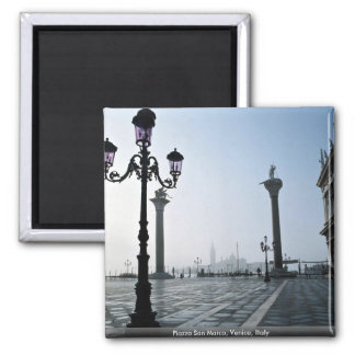 Piazza San Marco Venice Italy Magnets