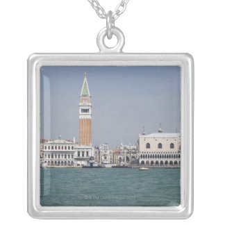 Piazza San Marco Venice Italy Silver Plated Necklace