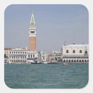 Piazza San Marco Venice Italy Square Sticker