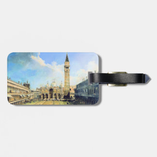 Piazza San Marco Venice Luggage Tag