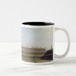 Piazza San Marco, Venice Two-Tone Coffee Mug