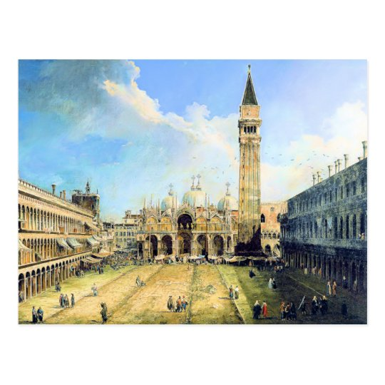 Piazza San Marco Venice Postcard