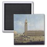 Piazza San Marco, Venice Square Magnet