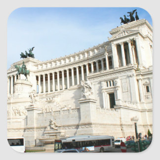 Piazza Venezia Square Sticker