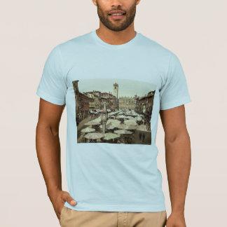 Piazzi delle Erbe, Verona, Italy classic Photochro T-Shirt