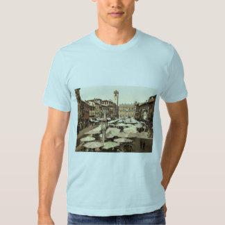 Piazzi delle Erbe, Verona, Italy classic Photochro T-shirts