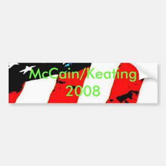 pic033, McCain/Keating 2008 Bumper Sticker