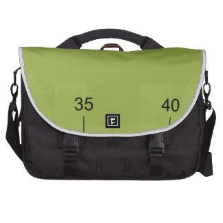 Pica Inch Ruler Icon Laptop Messenger Bag