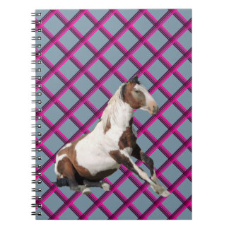 Picasso on Plaids Spiral Notebook
