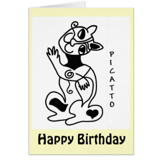 PICATTO birthday Card