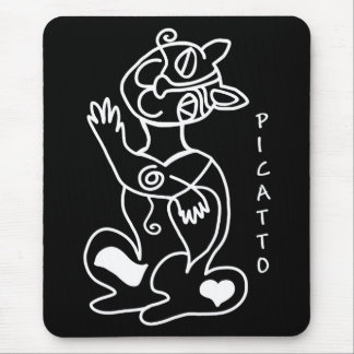 PICATTO will love your mouse Mouse Mat