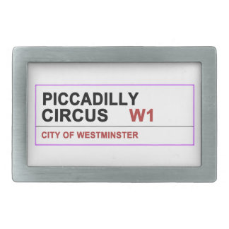 Piccadilly Circus London Belt Buckles