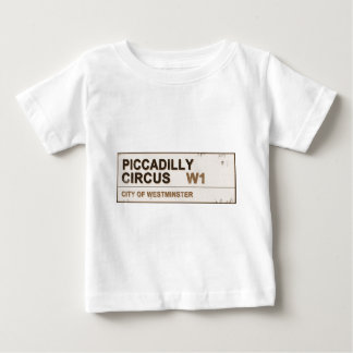 Piccadilly Circus London - Vintage Baby T-Shirt