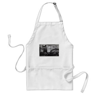 Piccadilly Circus, London Vintage Standard Apron