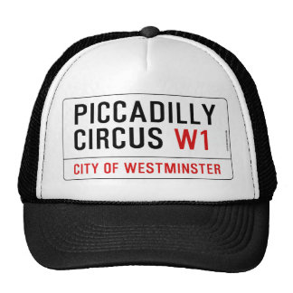 Piccadilly Circus Street Sign Cap
