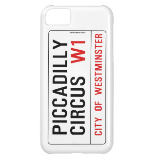 Piccadilly Circus Street Sign iPhone 5C Case