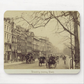 Piccadilly facing East, (sepia photo) Mouse Mat