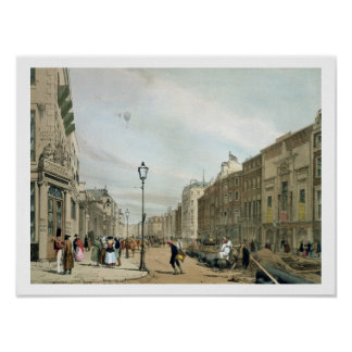 Piccadilly from the corner of Old Bond Street, fro Poster