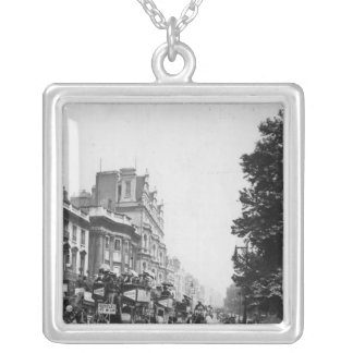 Piccadilly, London Silver Plated Necklace