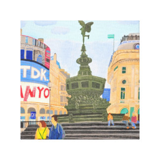Piccadilly Oxford London Canvas Print
