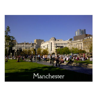 Piccadily Gardens Postcard