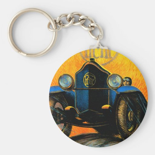 Piccard-Pictet Pic-Pic ~ Vintage Auto Ad Keychains