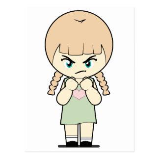 Piccola_Simo  Angry Postcard