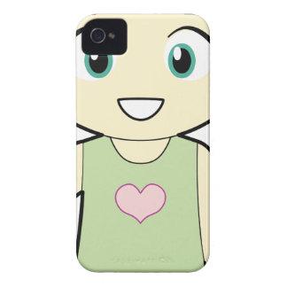 Piccola_Simo  Hello iPhone 4 Case-Mate Case