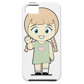 Piccola_Simo  Hello iPhone 5 Case