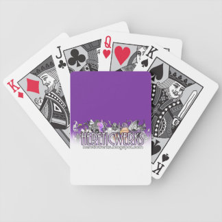 Pick a card... bicycle poker deck