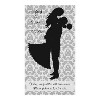 Pick a seat not a side Wedding Seating Print