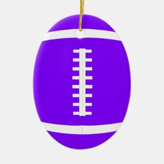 Pick Any Color Custom American Football Christmas Christmas Ornament