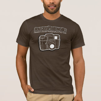 Pick Any Color, White Outline, Holga, 1-Sided T-Shirt