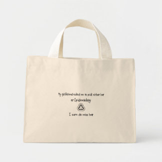 Pick Girlfriend or Epidemiology Canvas Bags