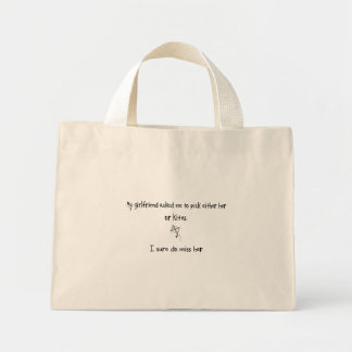 Pick Girlfriend or Kites Canvas Bag