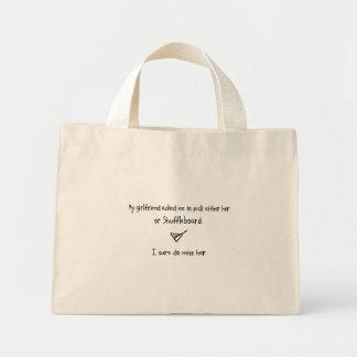 Pick Girlfriend or Shuffleboard Bag