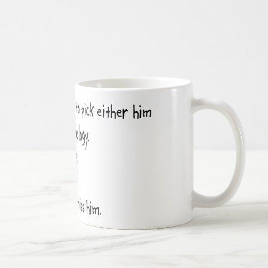 Pick Husband or Immunology Coffee Mug