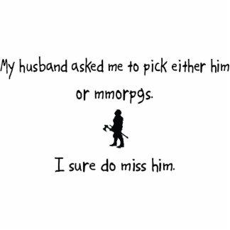 Pick Husband or MMORPGs Photo Cutouts