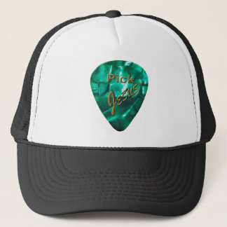 Pick Jesus Trucker Hat