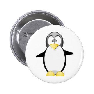Pick Up A Penquin 6 Cm Round Badge