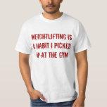 Pick Up Weightlifting Tee Shirts